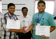 Winners of State Level Technical Quiz Contest 2014 held at HOC Pillai Polytechnic, Rasayani