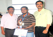 Winner in State Level Software Contest 2014 - Revera Institute of Technology, Navi Mumbai