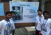 Project Presentation and Exhibition - Automobile Department- 2nd Prize: Segway Bike